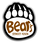 Bear's Street Food Logo